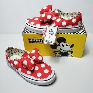 Vans Authentic Gore Disney Minnie's Bow Low Top